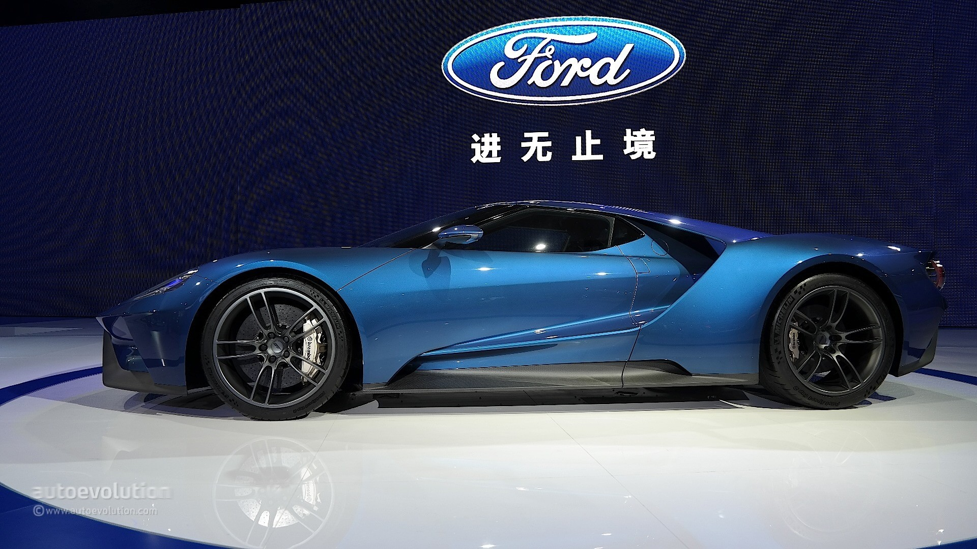 2017 Ford Gt S V6 Ecoboost Makes Sense In Shanghai Live Pictures