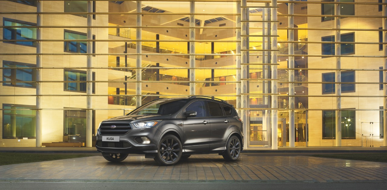 2017 ford kuga receives the st line treatment autoevolution. Black Bedroom Furniture Sets. Home Design Ideas