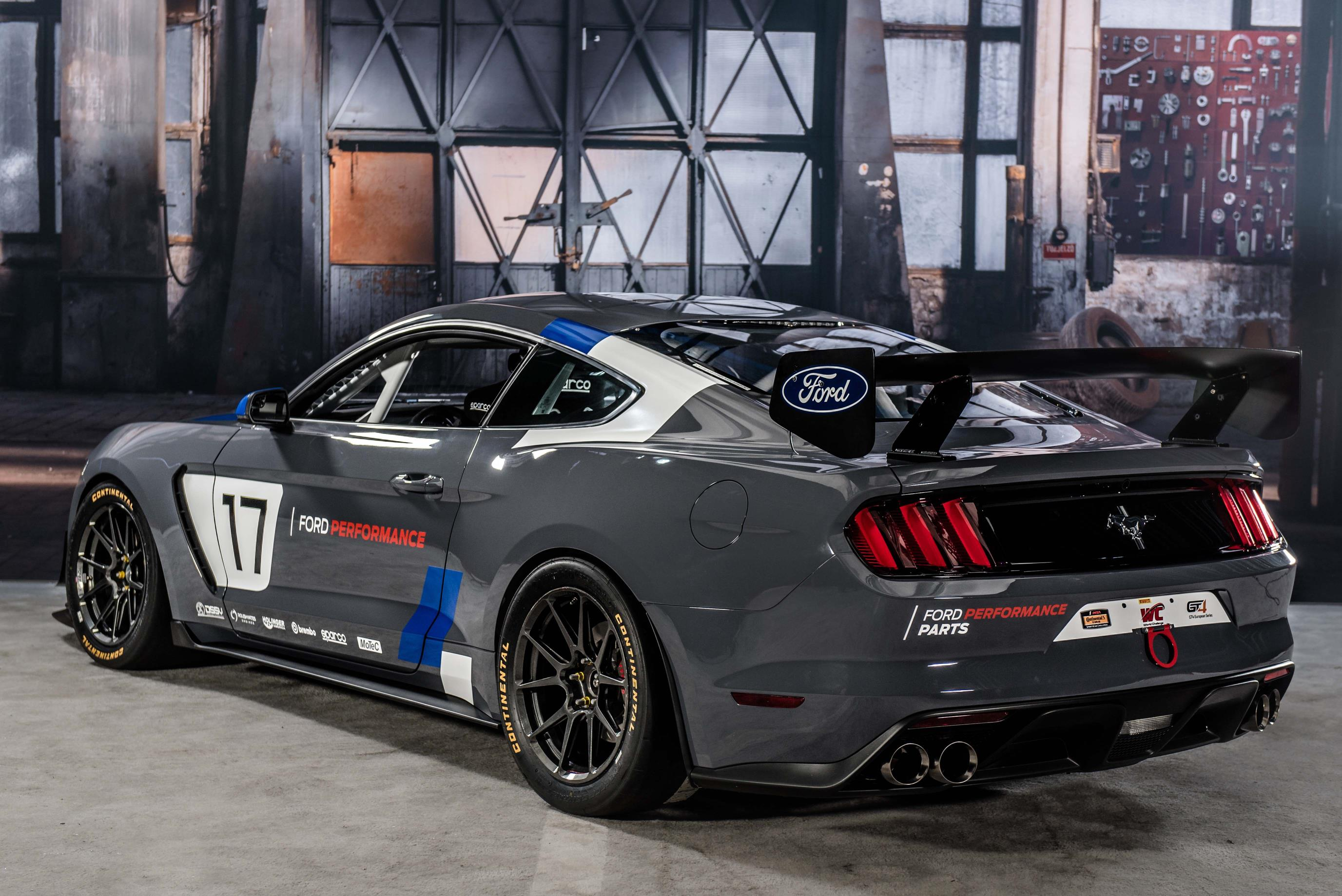 2017 ford mustang gt4 turnkey racecar has cross plane crankshaft voodoo v8 autoevolution. Black Bedroom Furniture Sets. Home Design Ideas