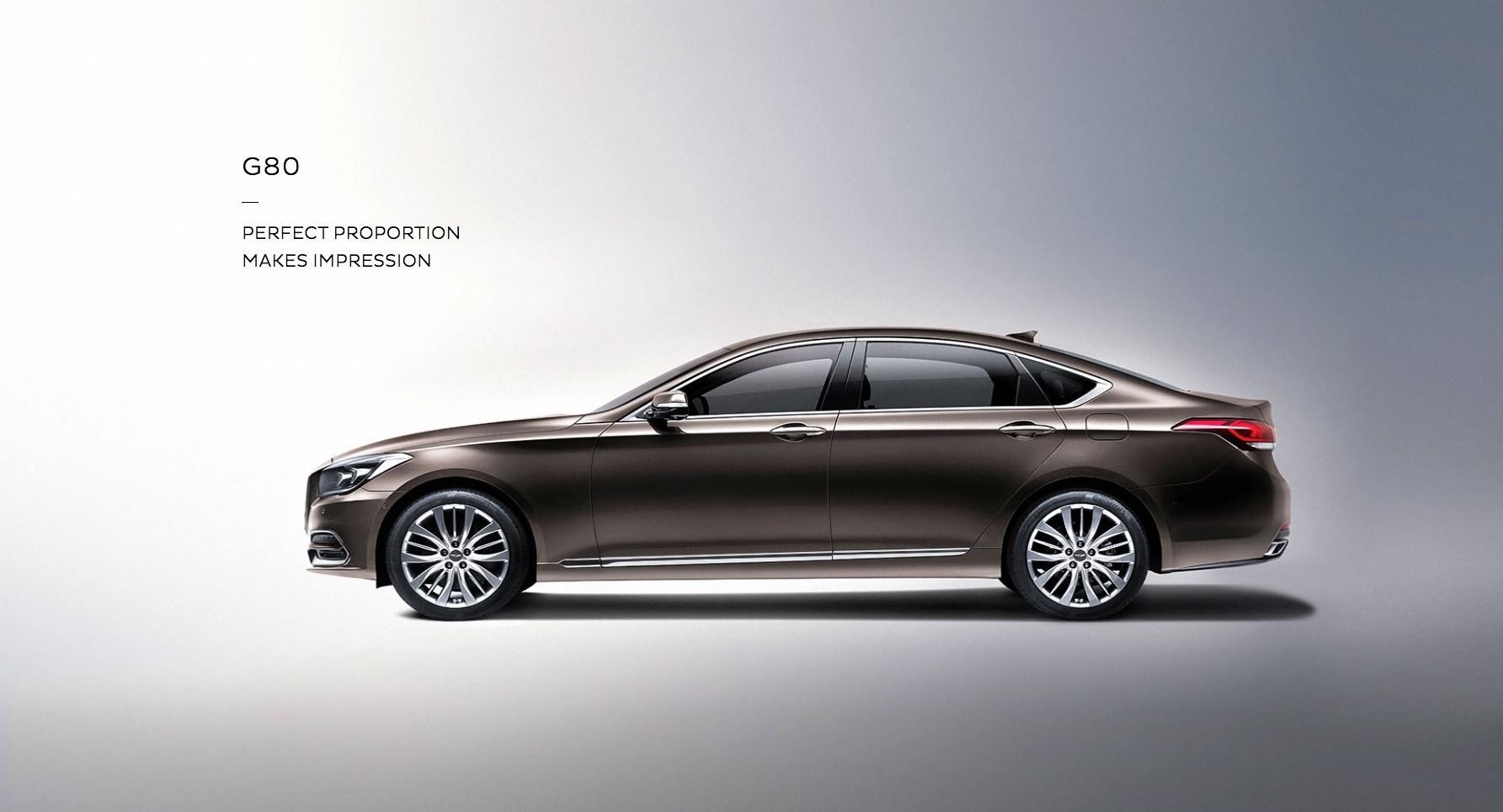 Hyundai Rm16 >> 2017 Genesis G80 Unveiled at 2016 Busan Auto Show ...