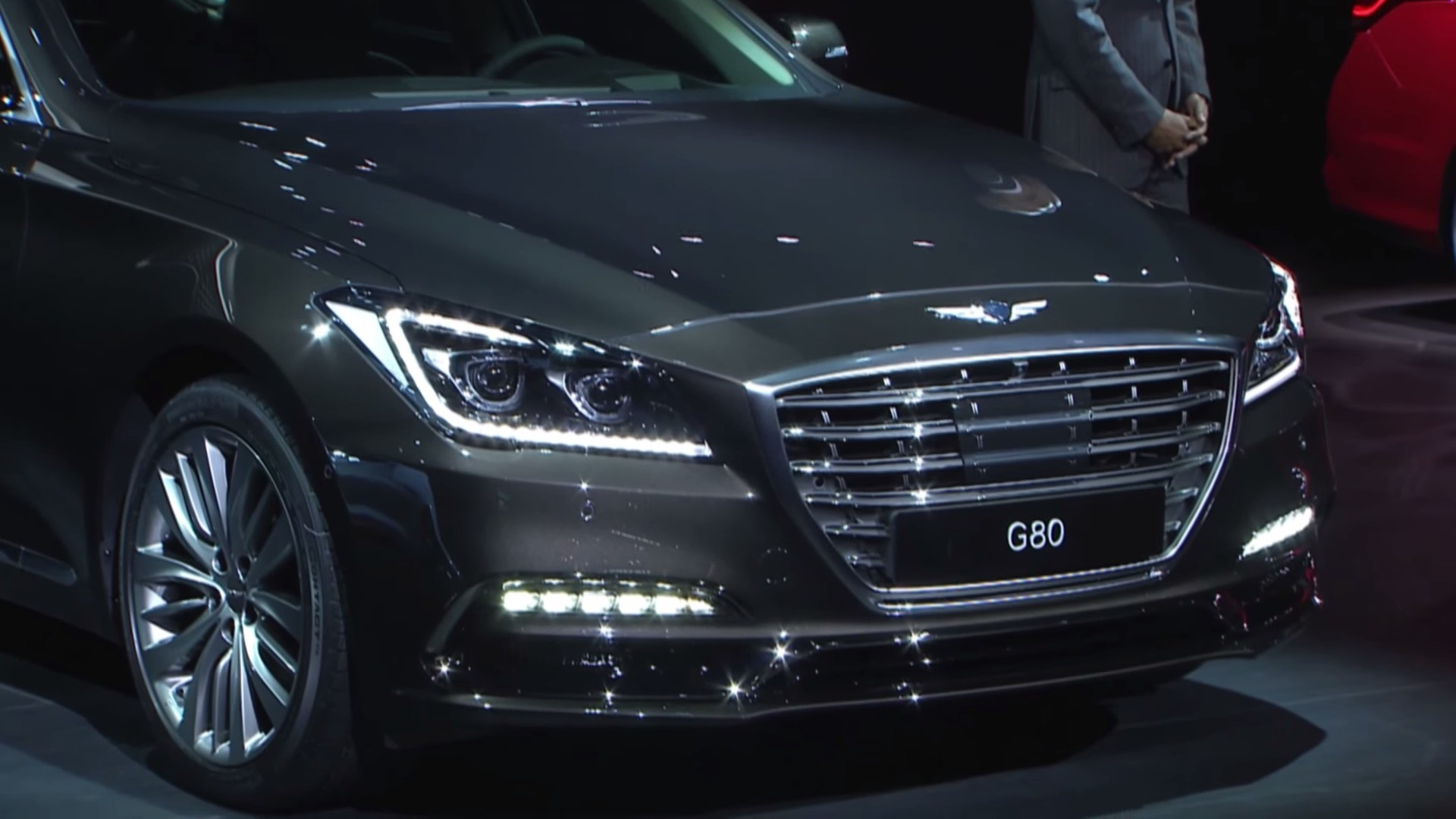 2017 Genesis G80 Unveiled At 2016 Busan Auto Show