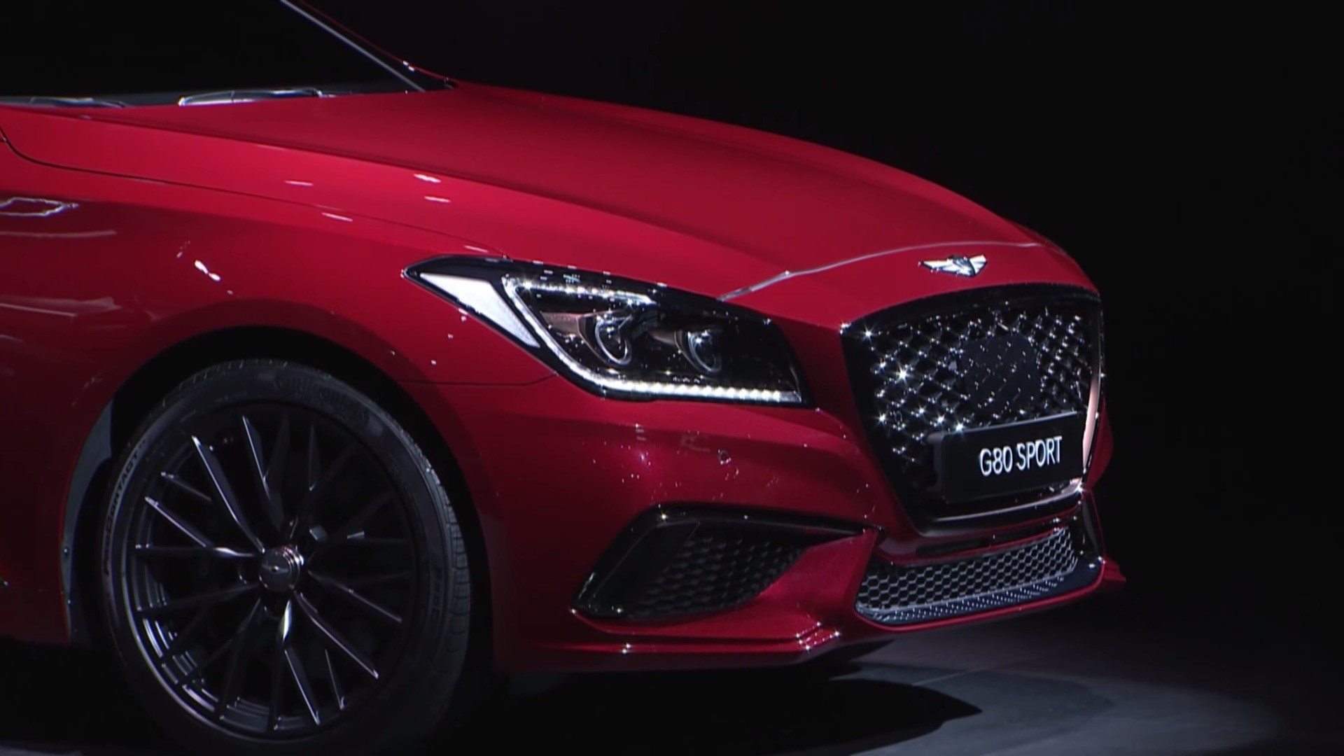 2017 Genesis G80 Unveiled at 2016 Busan Auto Show ...