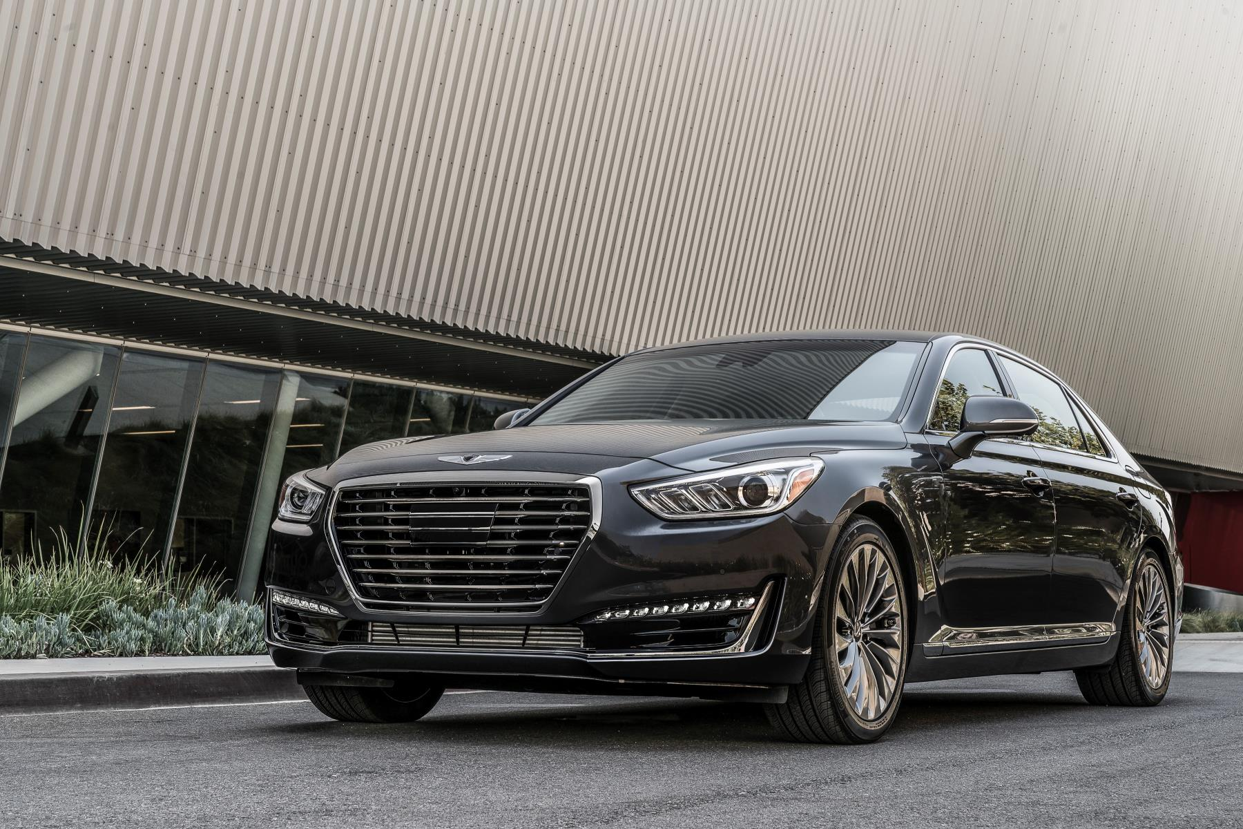 2017 genesis g90 flagship detailed has most standard kit in its class autoevolution. Black Bedroom Furniture Sets. Home Design Ideas