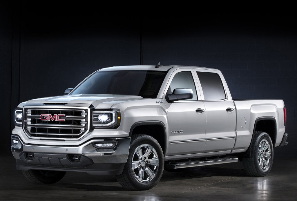 Car Paint Colors >> GMC Sierra 1500 and GMC Sierra 1500 Denali Get Enhanced for the 2017 Model Year - autoevolution