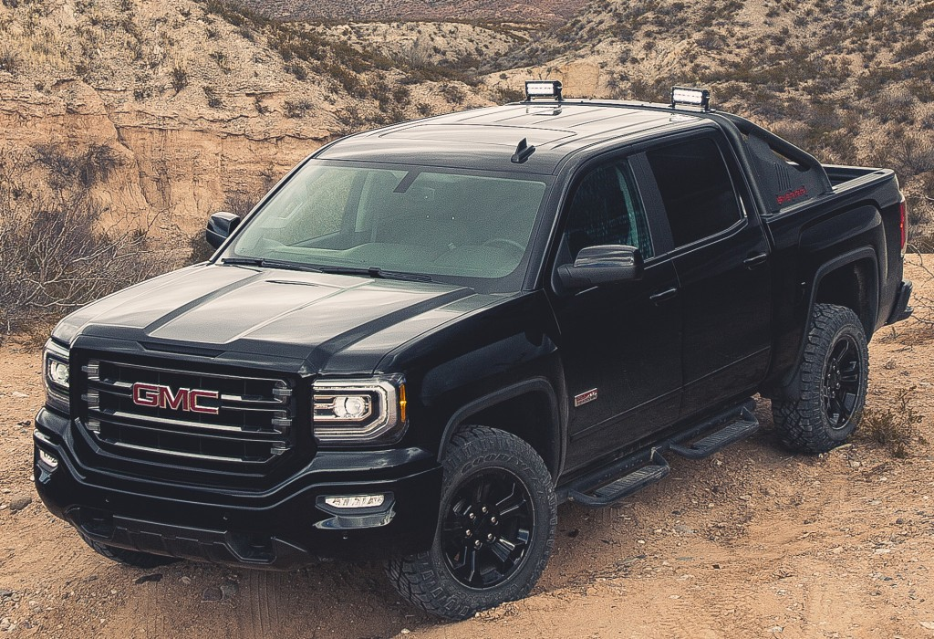 2017 Silverado Colors >> GMC Sierra 1500 and GMC Sierra 1500 Denali Get Enhanced ...