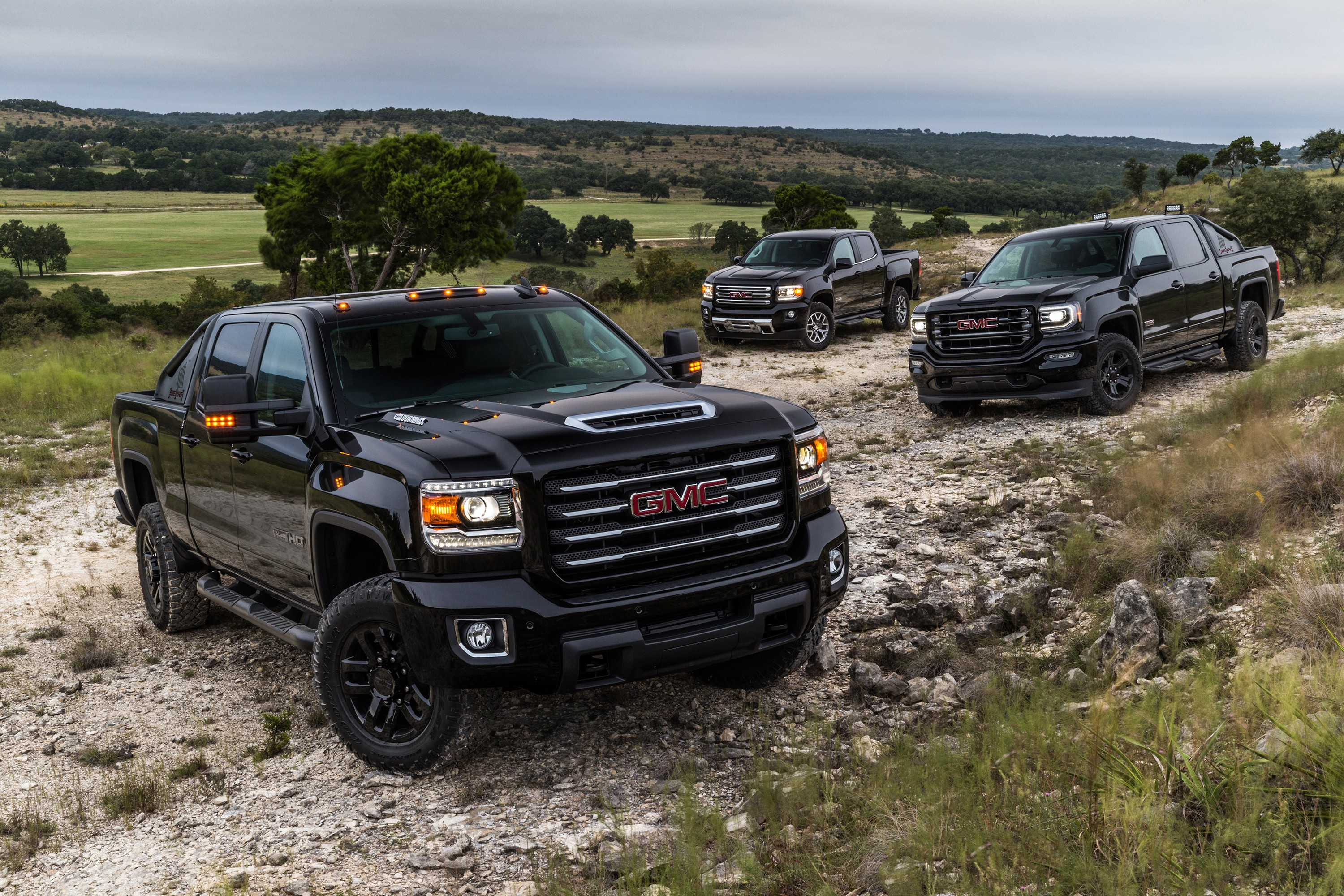 2017 GMC Sierra 2500HD All Terrain X Reporting For Off ...
