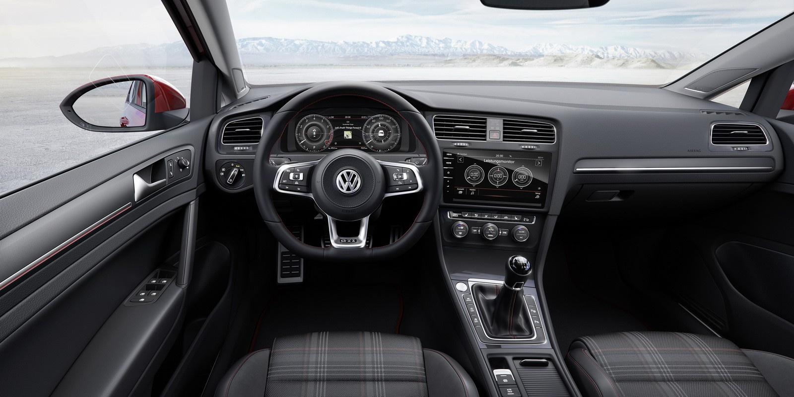 2017 Golf GTI Has 230 HP or 245 HP With Performance Pack