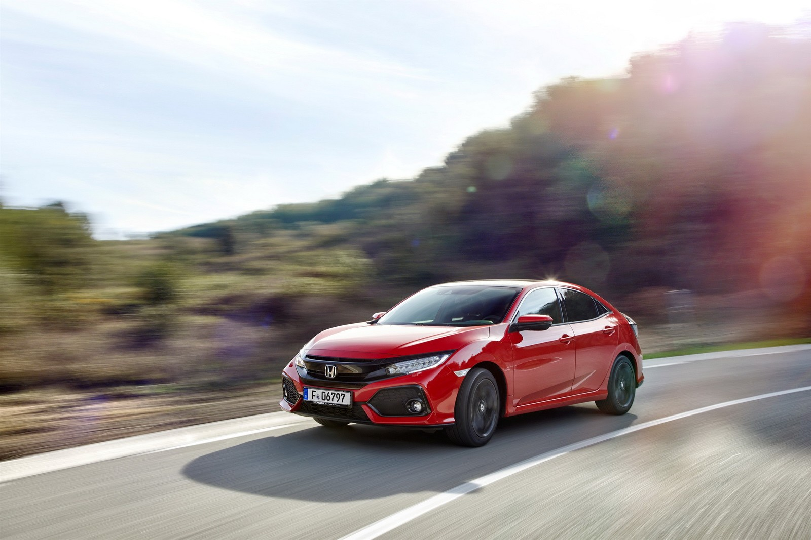 2017 Honda Civic Hatchback For Europe Detailed In Huge