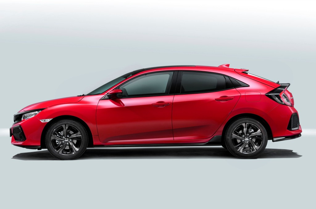 2017 honda civic hatchback priced in the uk from 18 235 for Used 2017 honda civic hatchback