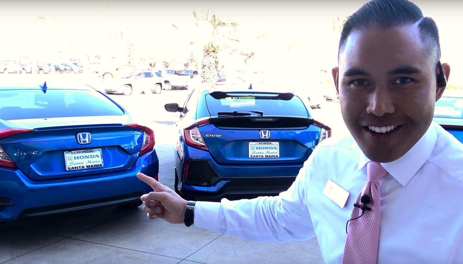 Coupe Comparison 2017 Honda Civic Hatchback Vs Sedan