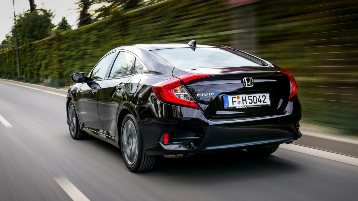 Honda Civic Sedan Debuts In Europe Is Only Available With