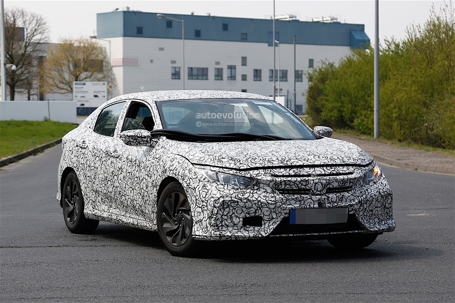 2017 Honda Civic Spyshots Reveal Interior Design - autoevolution