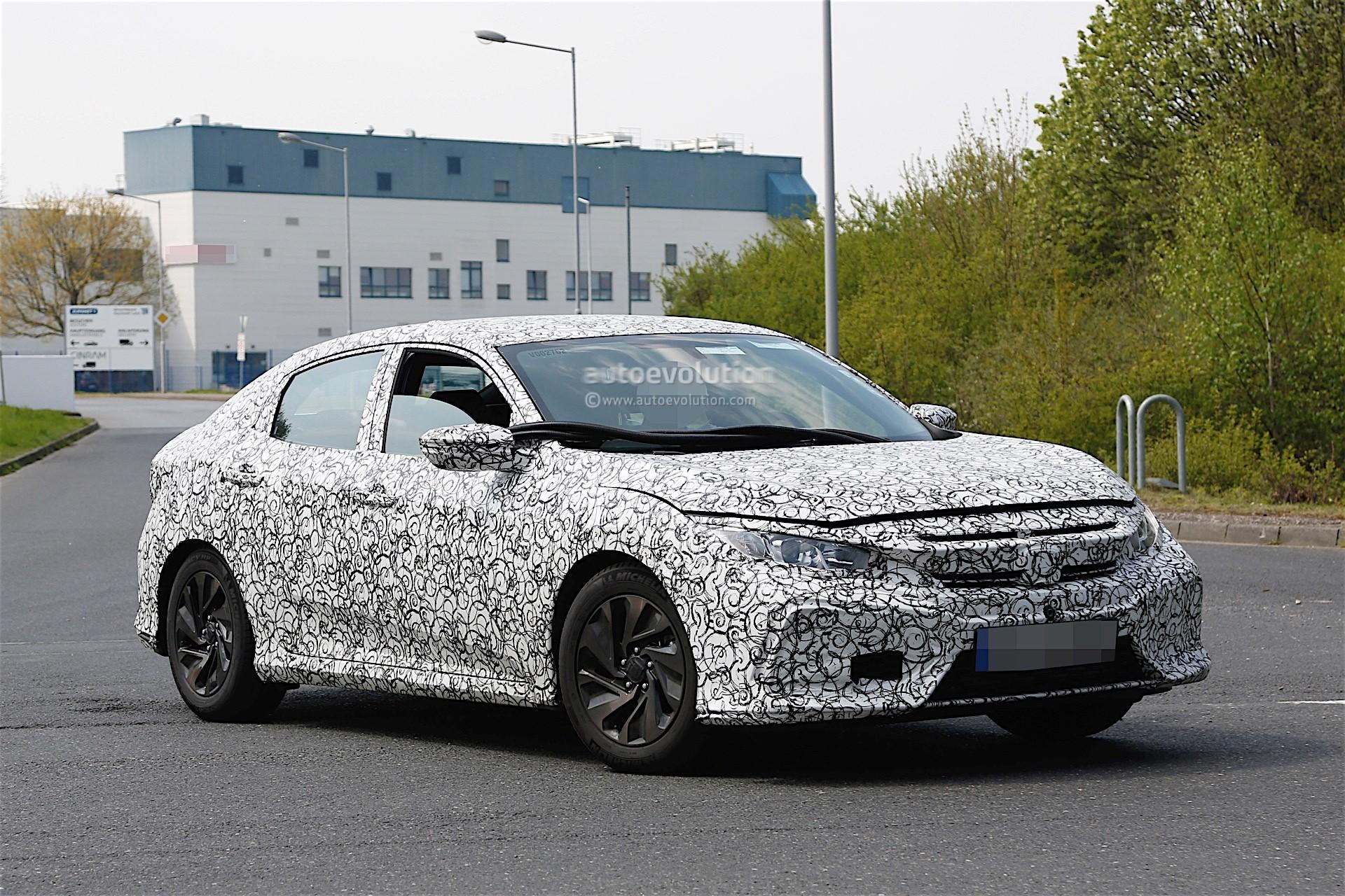 2017 Honda Civic Spyshots Reveal