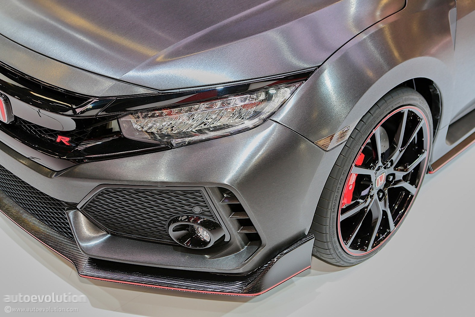 2016 Civic Type R Price >> 2017 Honda Civic Type R Black Edition Limited to 100 Examples - autoevolution