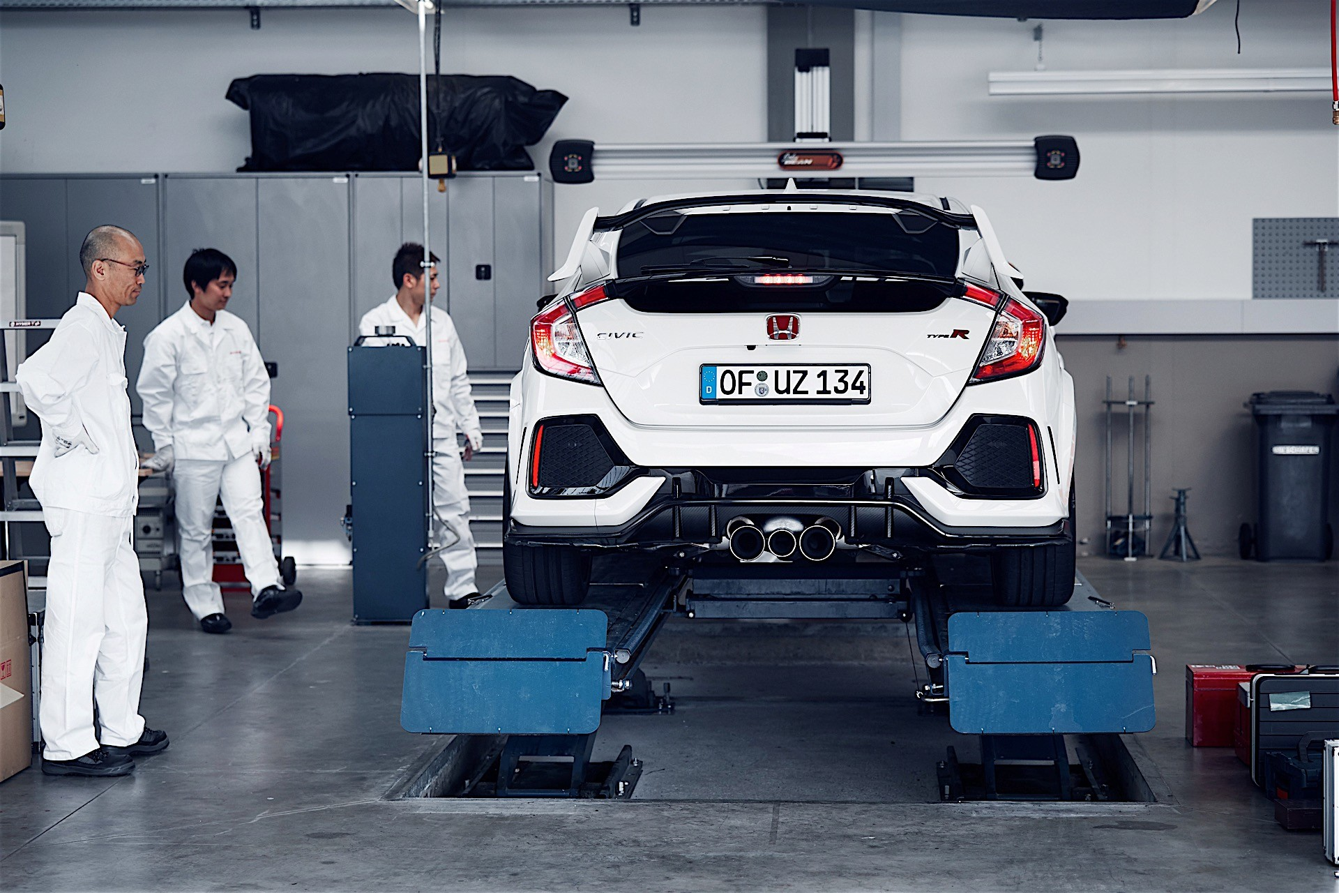trend civic quarter motor honda front sale news three in spring on type r goes late for