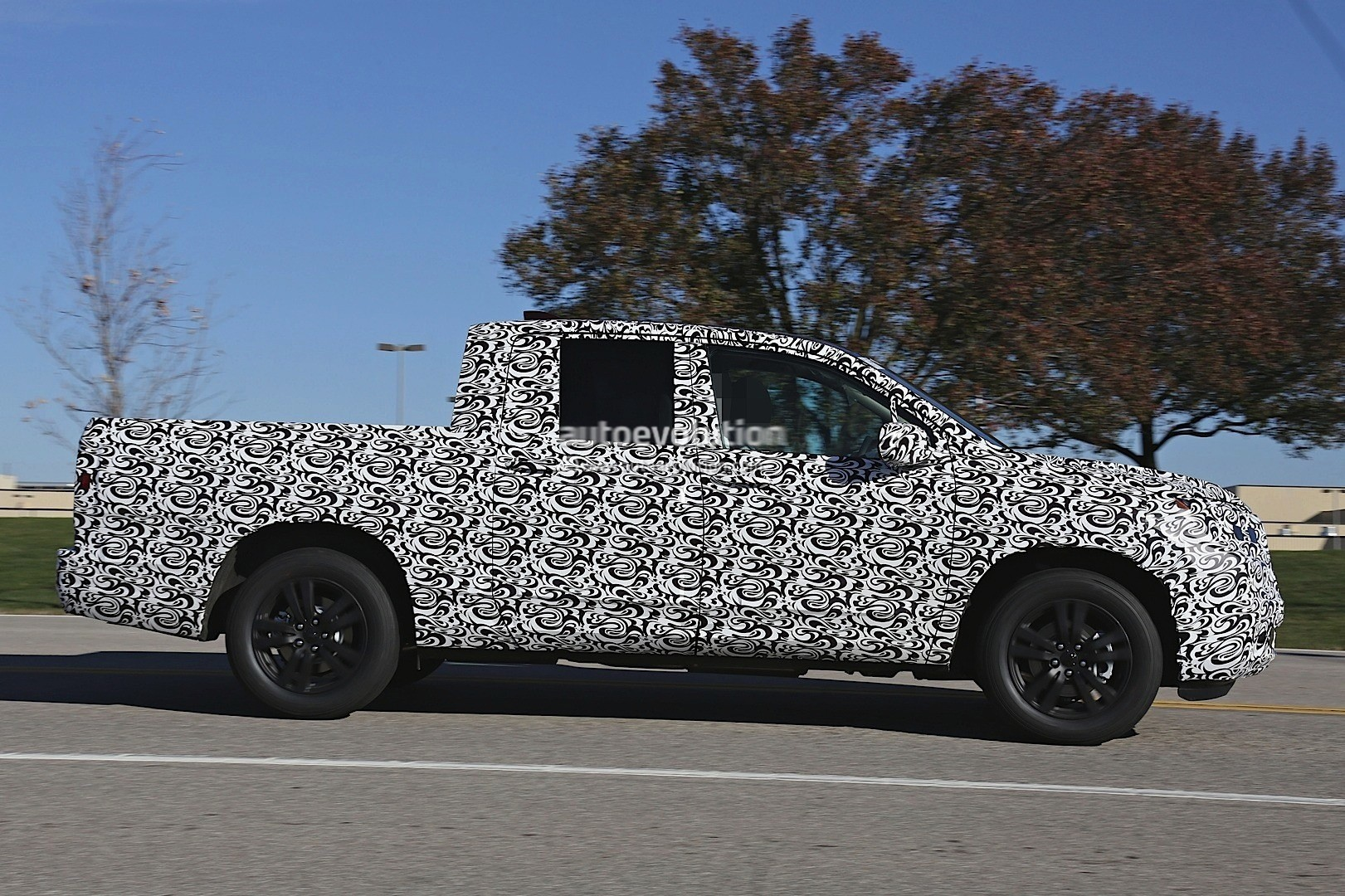 Beautiful 2017 Honda Ridgeline Silhouette Revealed In Latest