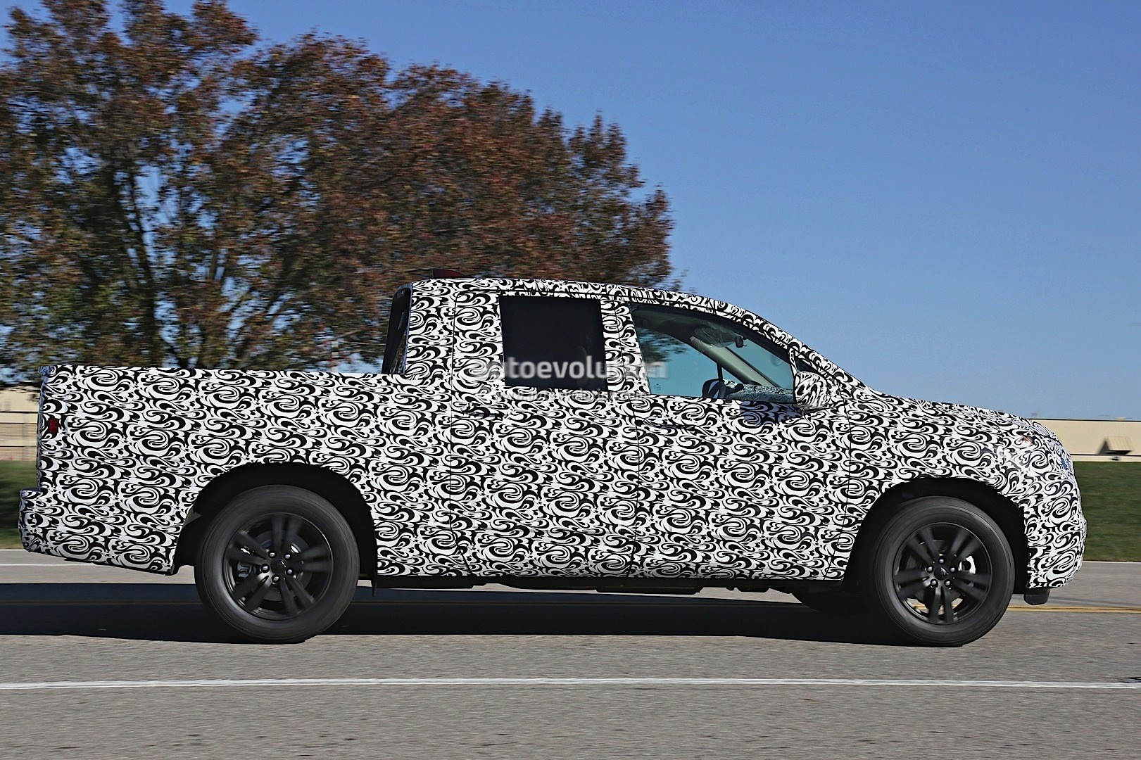 Innovative 2017 Honda Ridgeline Silhouette Revealed In Latest