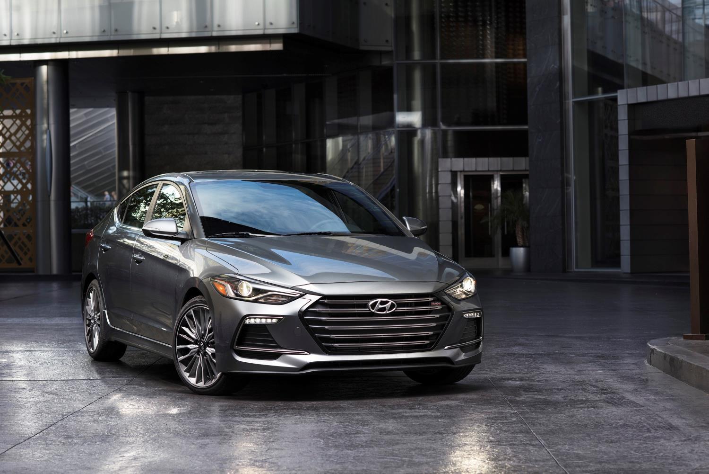 2017 Hyundai Elantra Sport Boasts Irs Turbo Engine