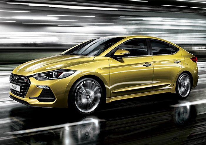 2017 hyundai elantra sport debuts in south korea autoevolution. Black Bedroom Furniture Sets. Home Design Ideas