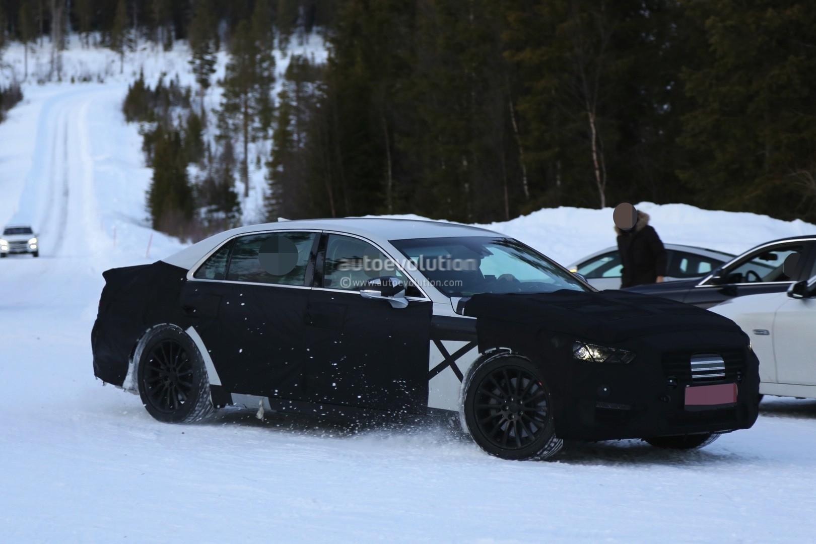 2017 Hyundai Equus Interior Spied - autoevolution