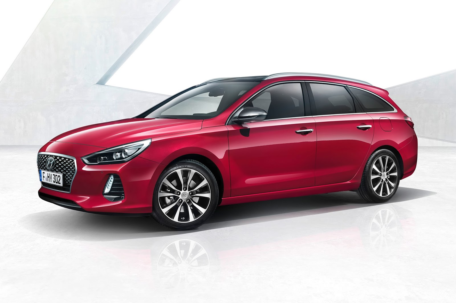 2017 hyundai i30 wagon revealed has shooting brake. Black Bedroom Furniture Sets. Home Design Ideas
