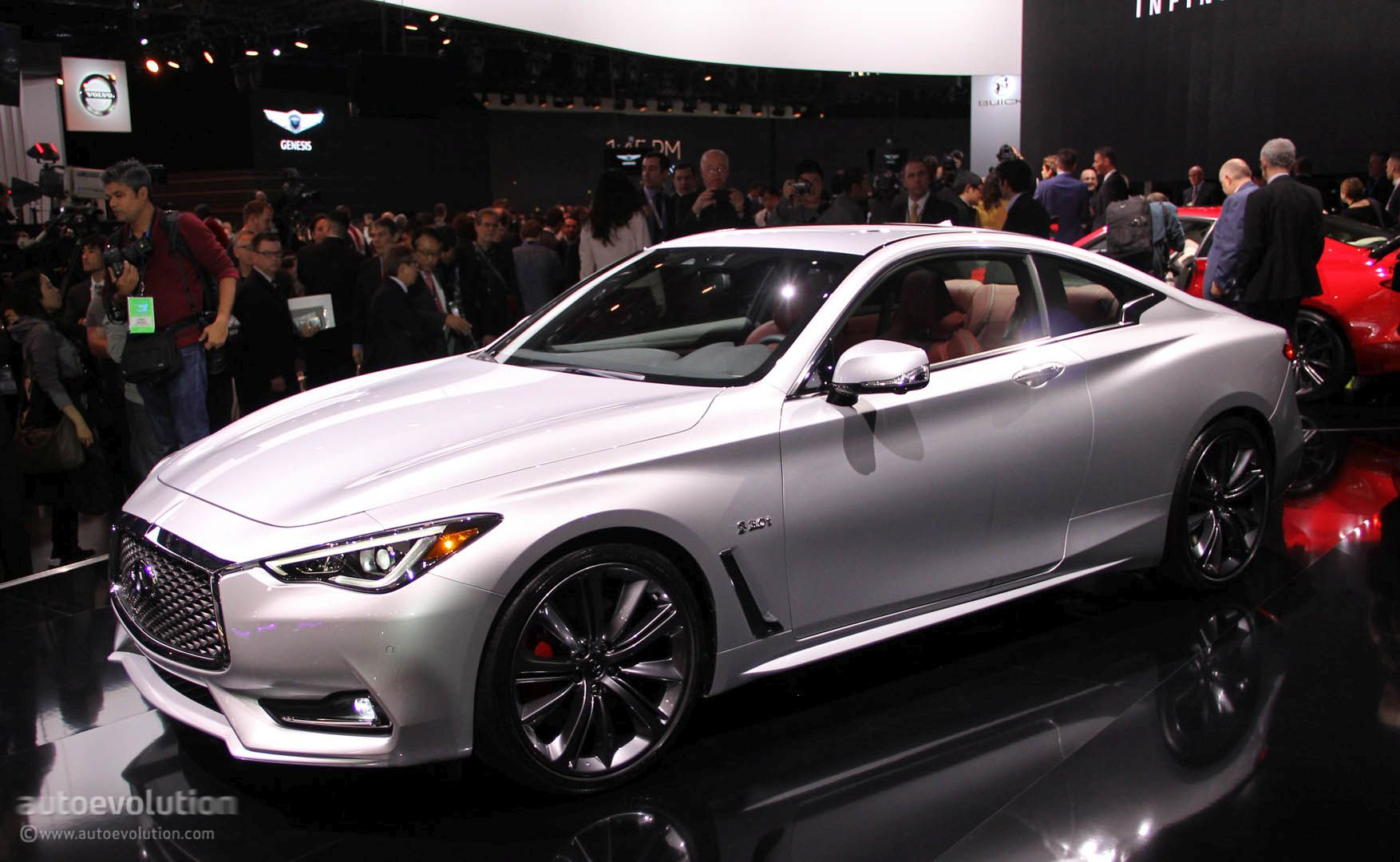 2017 infiniti q60 red sport 400 now available to order autoevolution. Black Bedroom Furniture Sets. Home Design Ideas