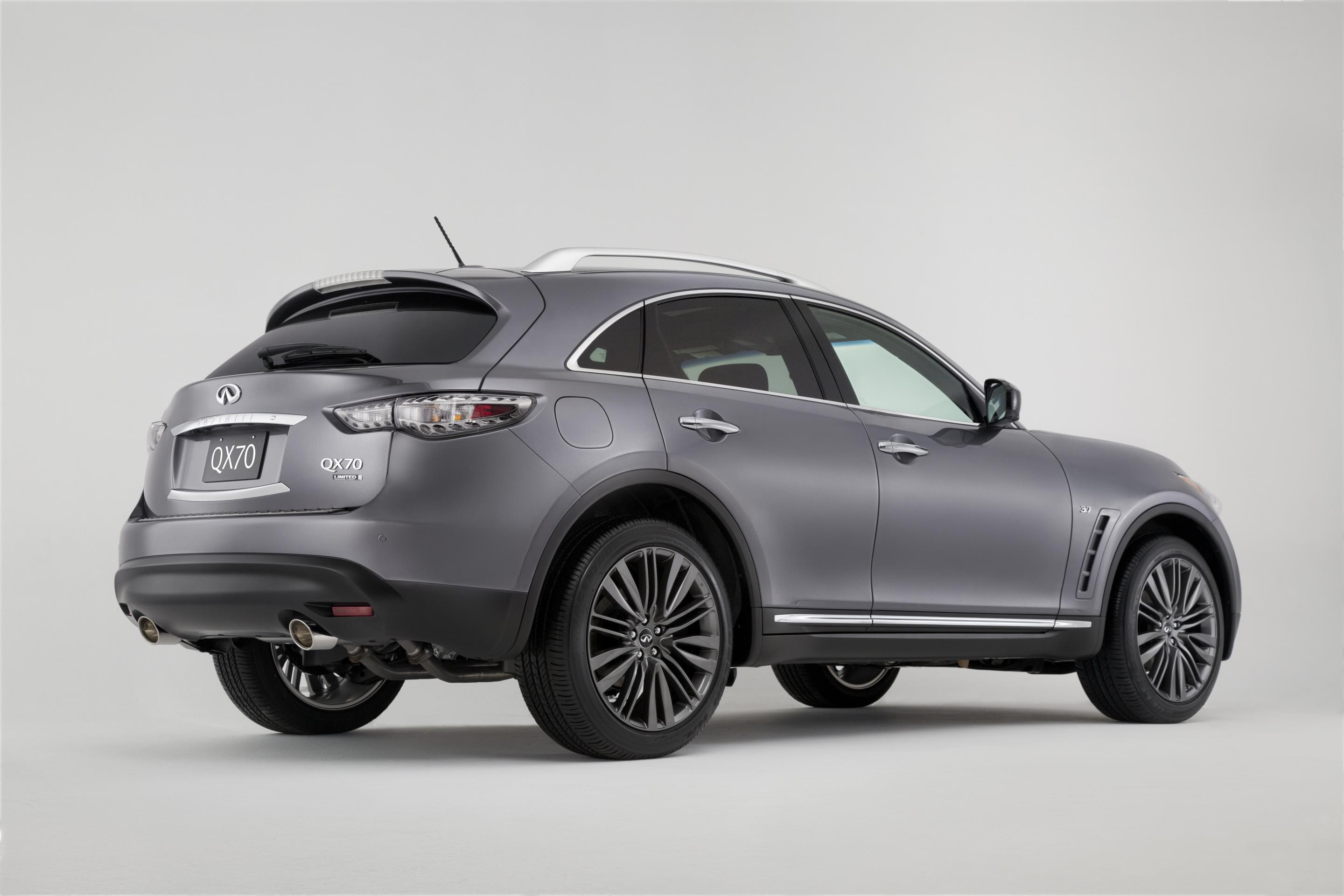2017 infiniti qx70 limited debuts at the new york auto show autoevolution. Black Bedroom Furniture Sets. Home Design Ideas