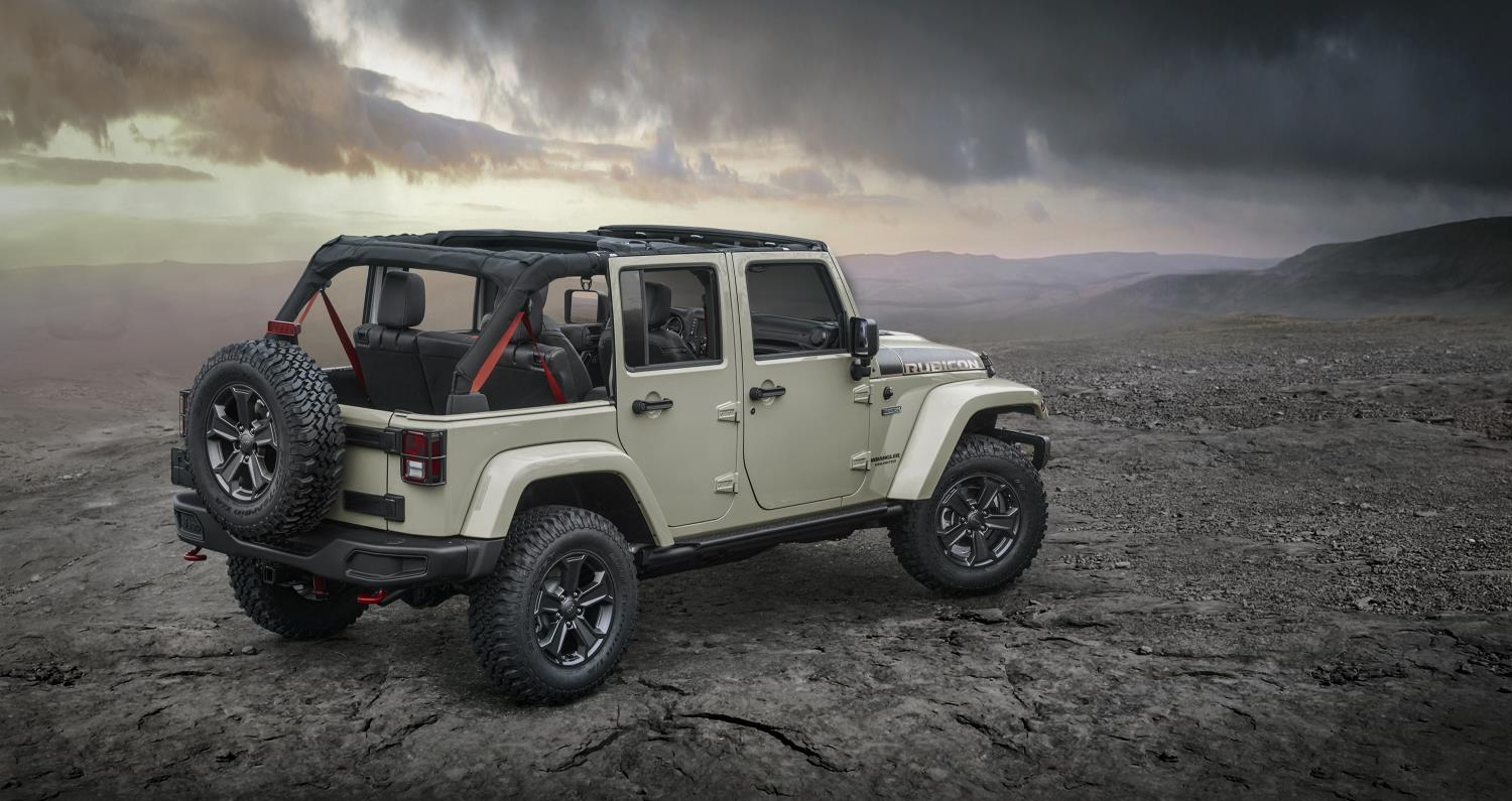 2018 Jeep Wrangler to Retain Body-On-Frame Construction, Aluminum ...