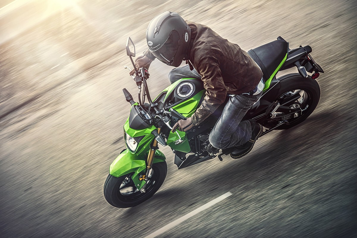 2017 Kawasaki Z125 Pro Is The Authentic Honda Grom Rival Autoevolution