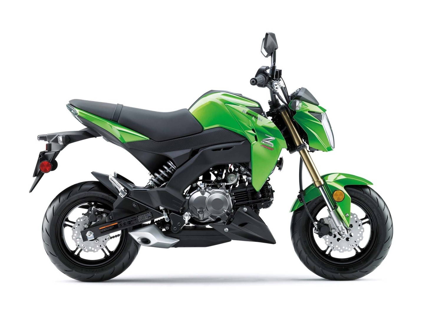 2017 Kawasaki Z125 Pro Is the Authentic Honda Grom Rival ...