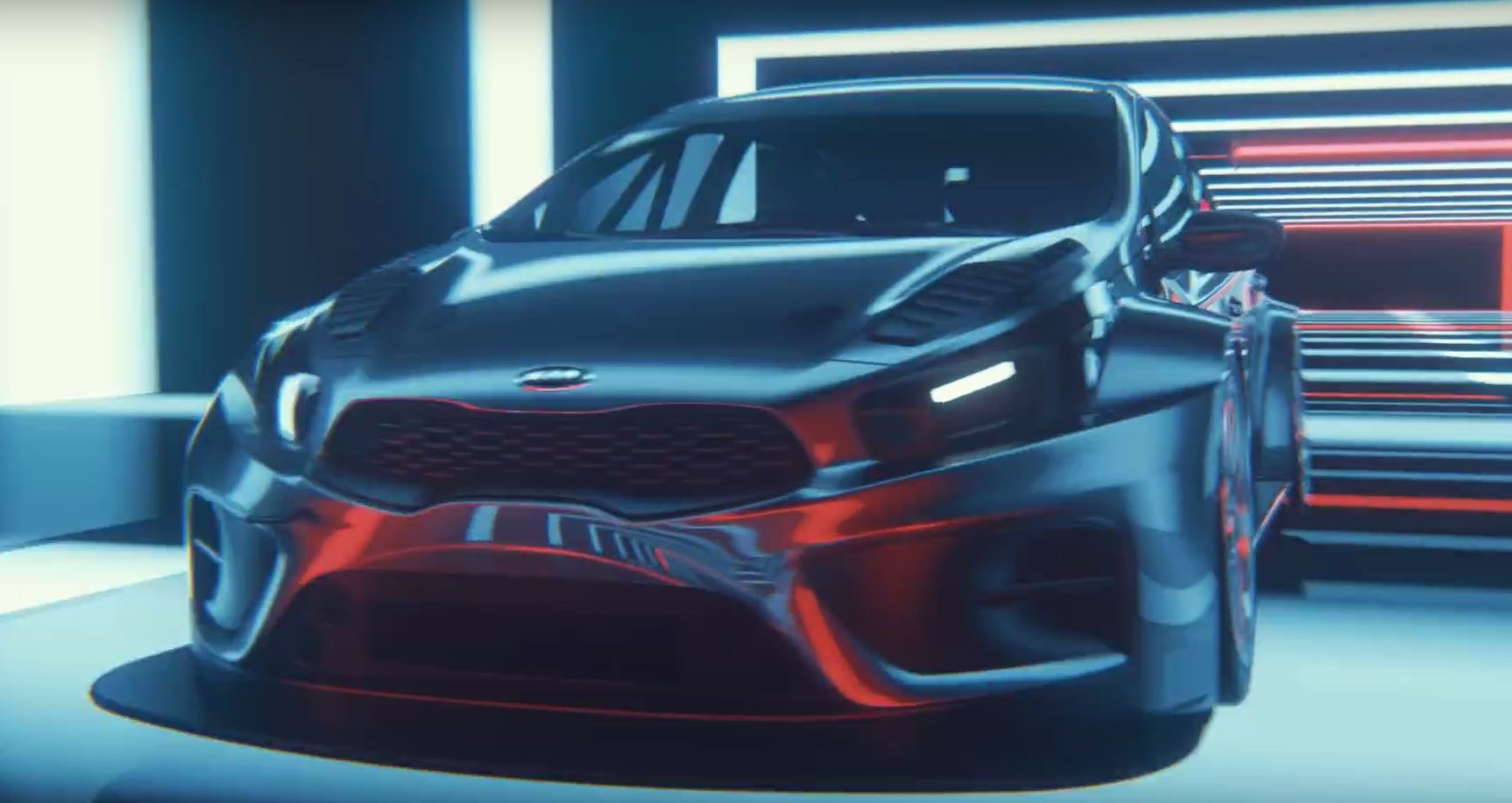 2017 kia cee 39 d tcr race car teased autoevolution. Black Bedroom Furniture Sets. Home Design Ideas
