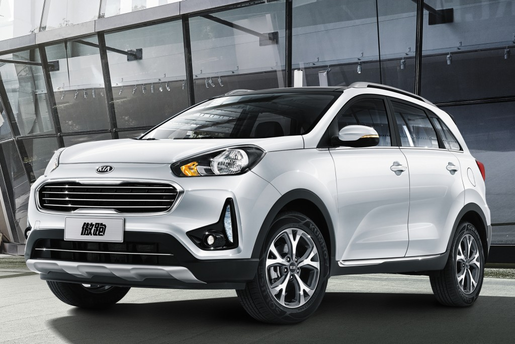 2017 Kia Kx3 Facelift Unveiled At The Chengdu Auto Show In