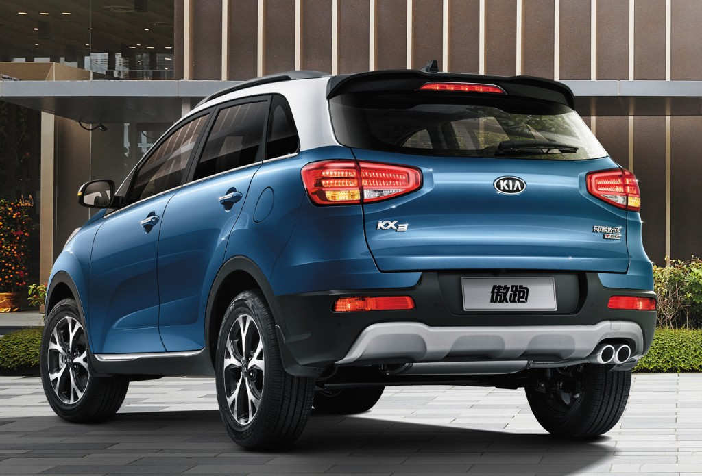 2017 Kia KX3 Facelift Unveiled at the Chengdu Auto Show in China