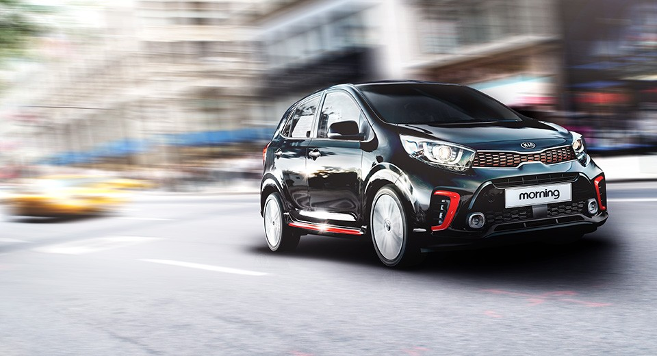 2017 Kia Picanto Goes Official, GT-Line Looks Like a Hot ...
