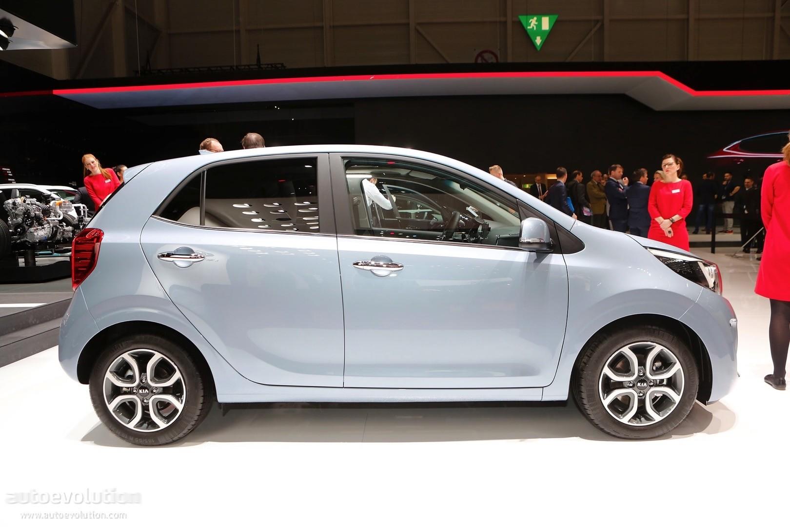 2017 kia picanto is the cutest small car in geneva autoevolution
