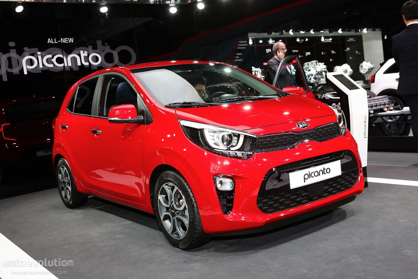 2017 Kia Picanto Is The Cutest Small Car In Geneva Autoevolution