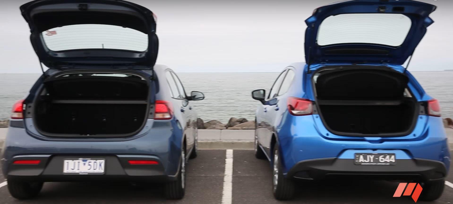 2017 Kia Rio Takes on Mazda2 Hatchback in Australian Review