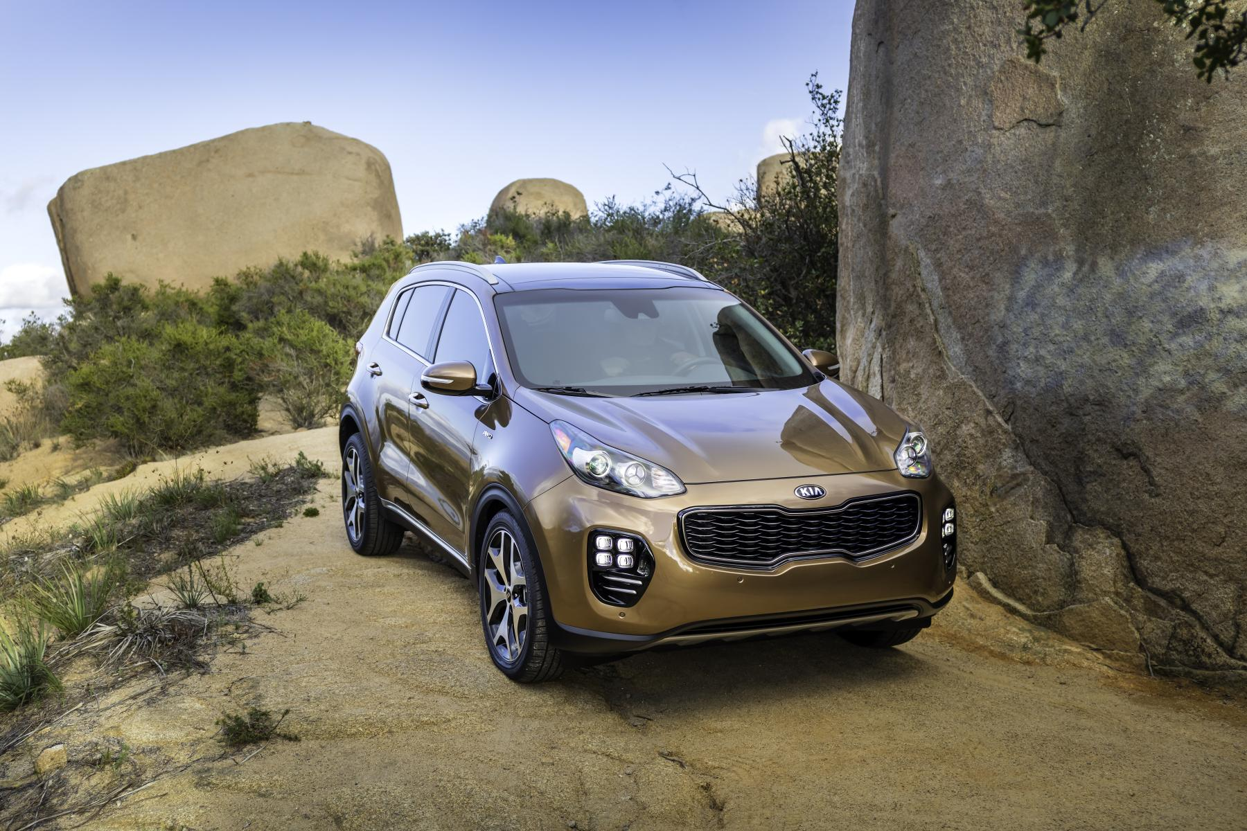 2017 kia sportage makes north american debut autoevolution. Black Bedroom Furniture Sets. Home Design Ideas