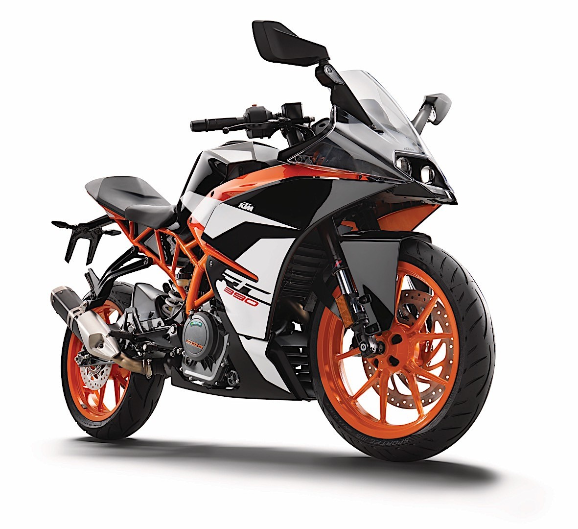 2017 ktm rc 390 major facelift calls to aspiring moto gp. Black Bedroom Furniture Sets. Home Design Ideas