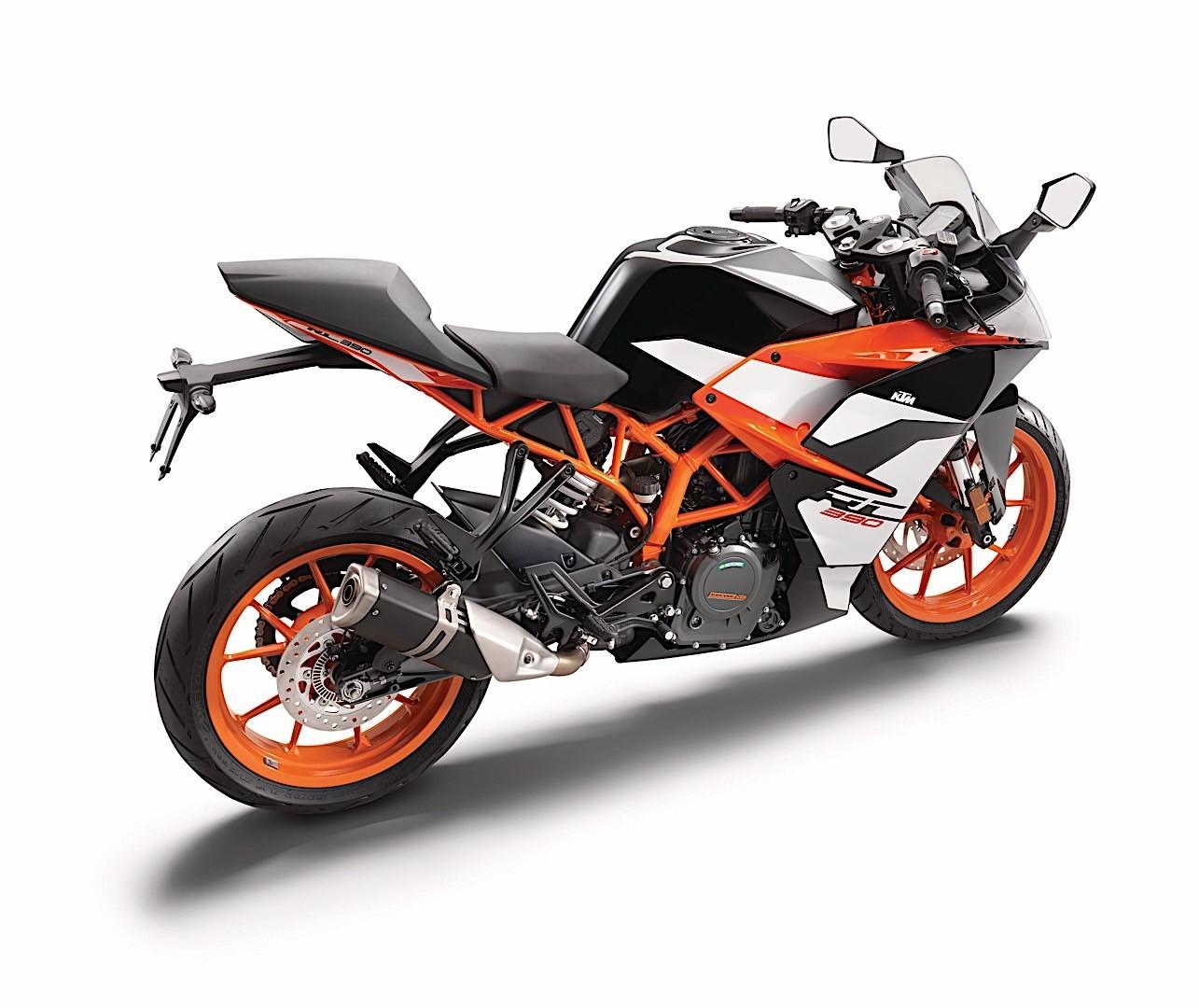2017 ktm rc 390 major facelift calls to aspiring moto gp racers autoevolution. Black Bedroom Furniture Sets. Home Design Ideas