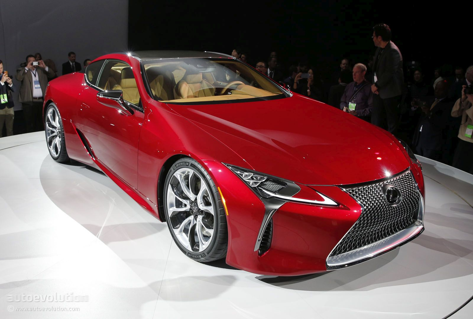 2017 Lexus Lc 500 Hunts Down Mercedes S Class Coupe In