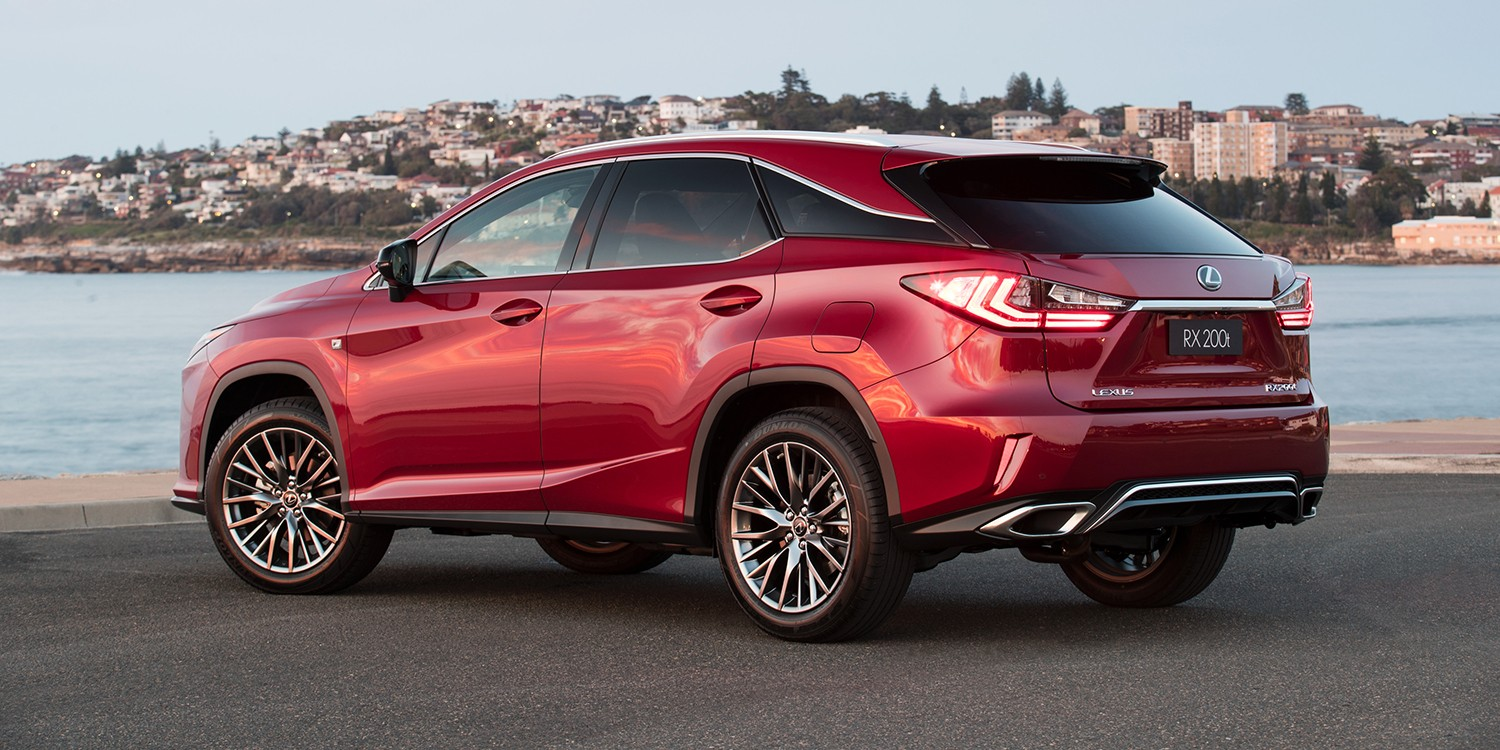 2017 Lexus Rx 200t F Sport Launched In Australia Does 0 To 100 Km H