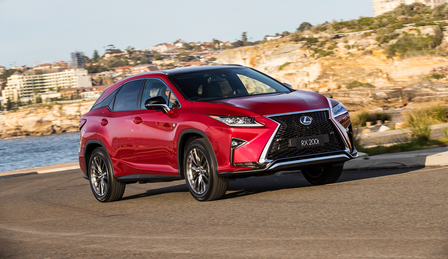 2017 lexus rx 200t f sport launched in australia does 0 to 100 km h in autoevolution. Black Bedroom Furniture Sets. Home Design Ideas