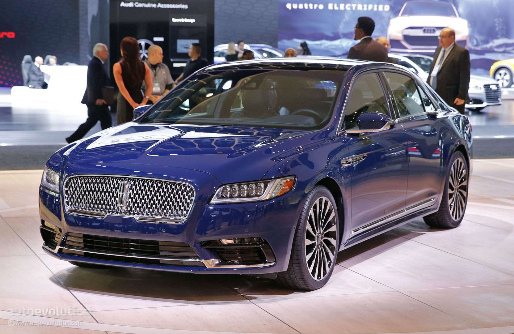 2017 lincoln continental shows 400 hp 400 lb ft v6 in detroit autoevolution. Black Bedroom Furniture Sets. Home Design Ideas