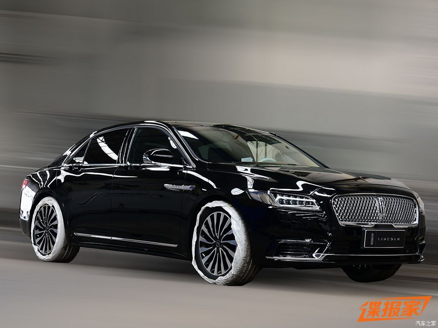 2017 lincoln continental presidential to debut in china. Black Bedroom Furniture Sets. Home Design Ideas
