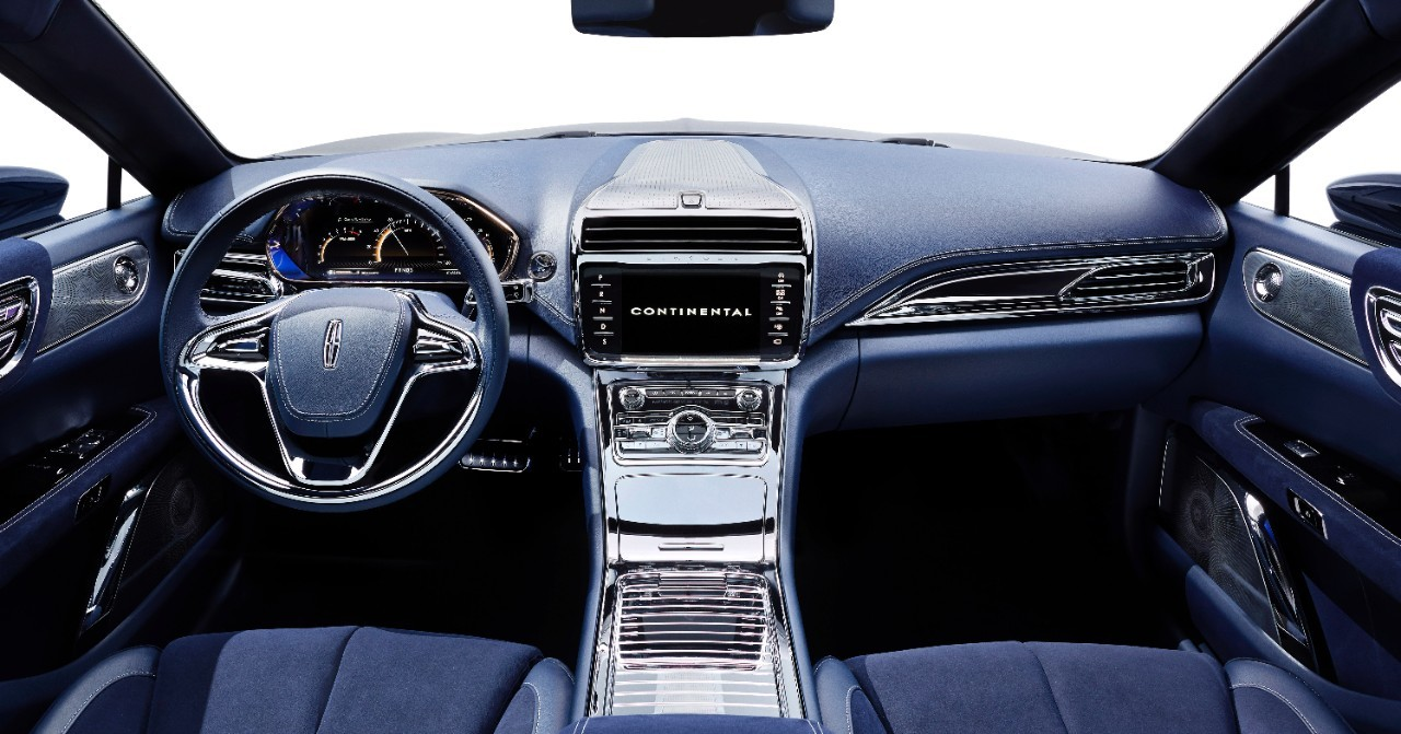 2017 Lincoln Continental Previewed by New York Auto Show-Bound ...