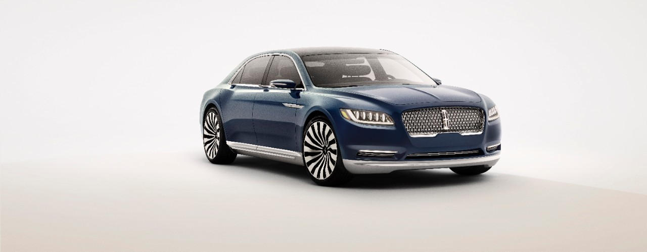 2017 lincoln continental previewed by new york auto show. Black Bedroom Furniture Sets. Home Design Ideas