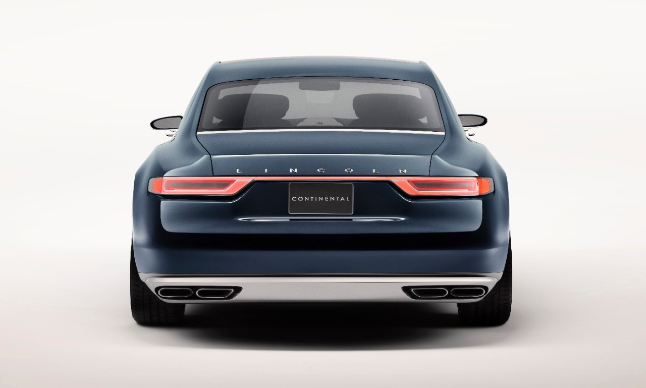 2017 Lincoln Continental Previewed by New York Auto Show-Bound Concept - autoevolution