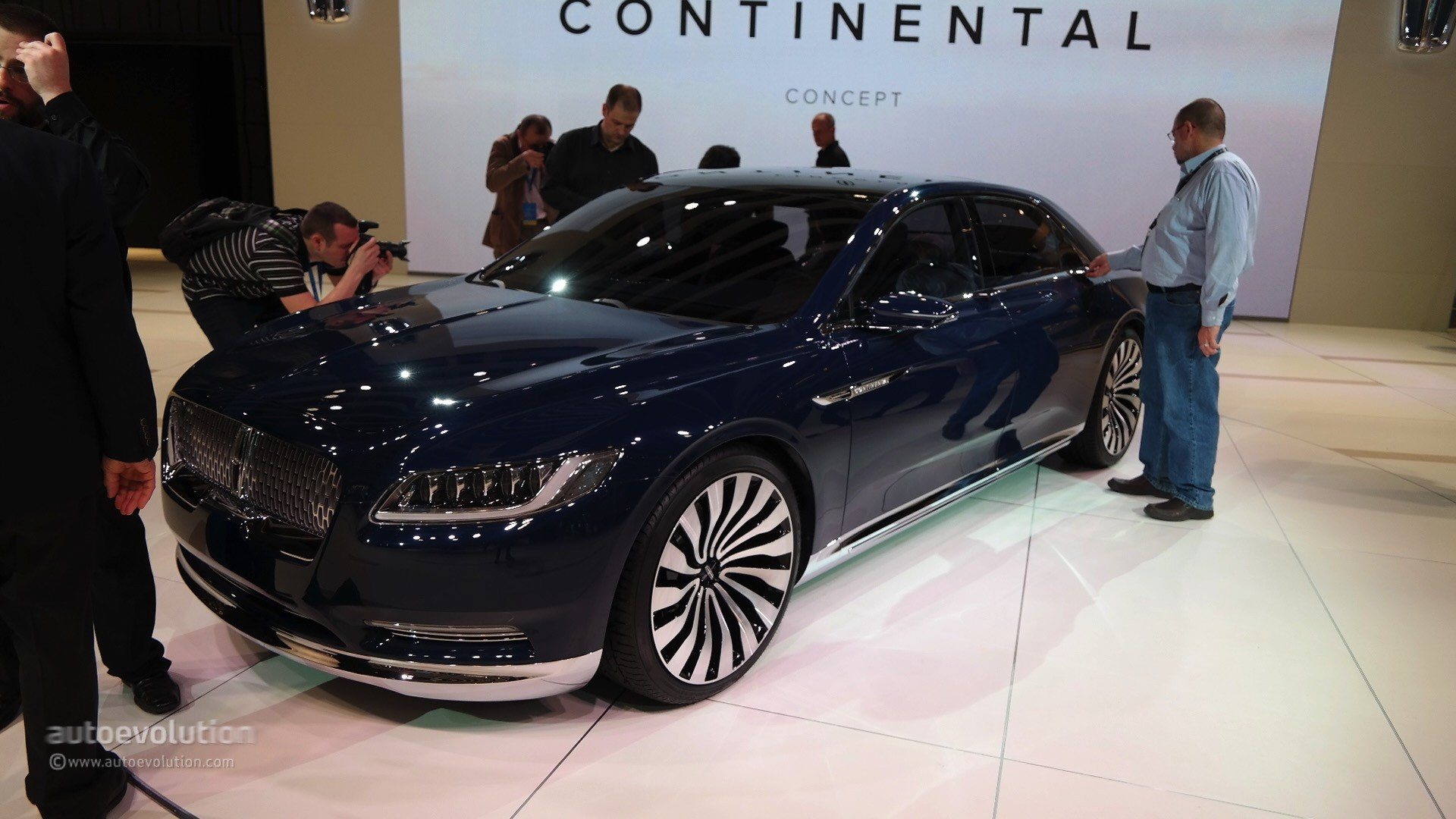 2017 Lincoln Continental Concept At Shanghai