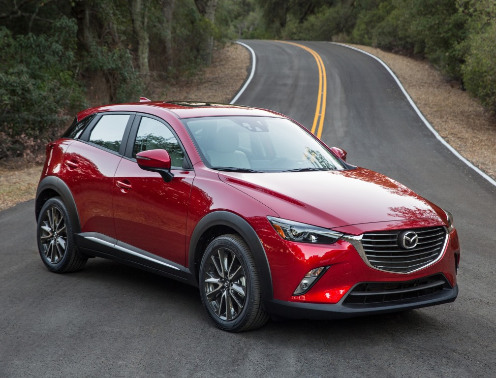 2017 Mazda CX-3 Boasts More Standard Equipment, Less Costly Options ...